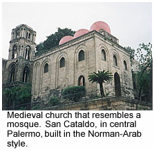 Read about historically multicultural Palermo.