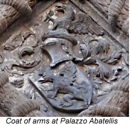 Abbatellis coat of arms.