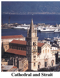 Messina Cathedral and Port