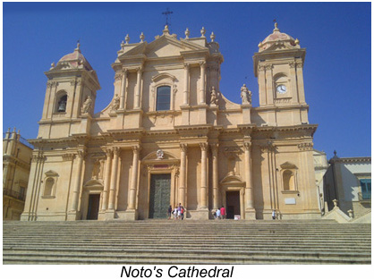 Noto's cathedral.