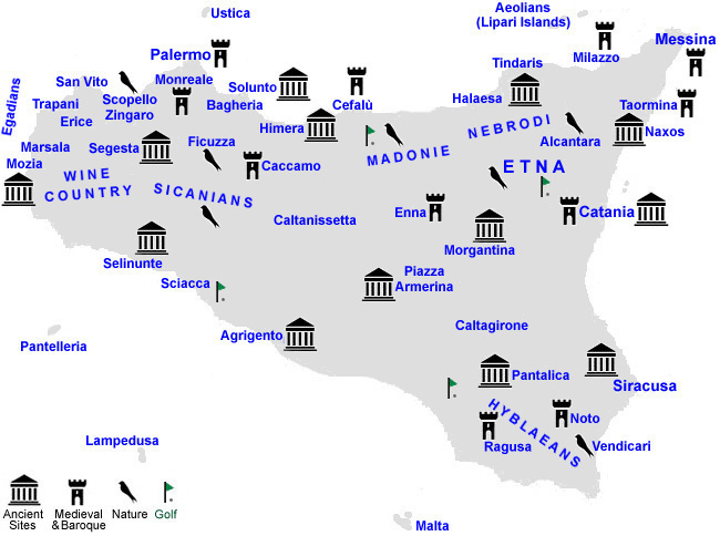 Locality Index Best of Sicily Cities and Towns of Sicily