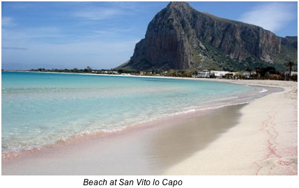Trapani favignana san vito lo capo scopello best of for Best beach near la