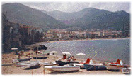 The beach of Cefalu.